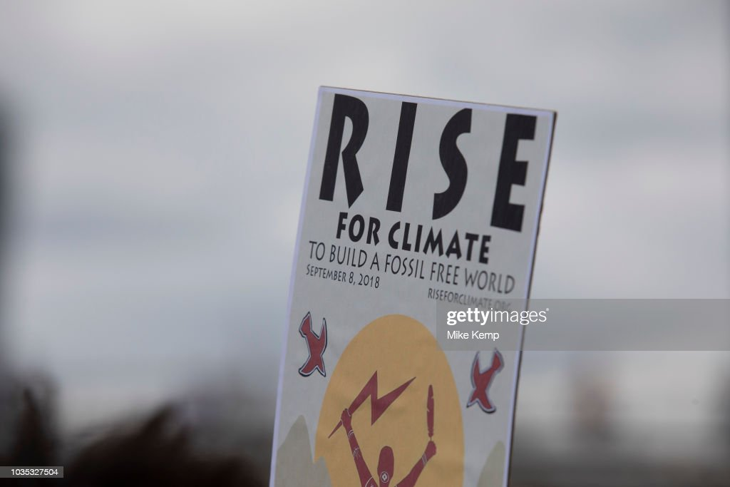 Rise For Climate Change Action In London : News Photo