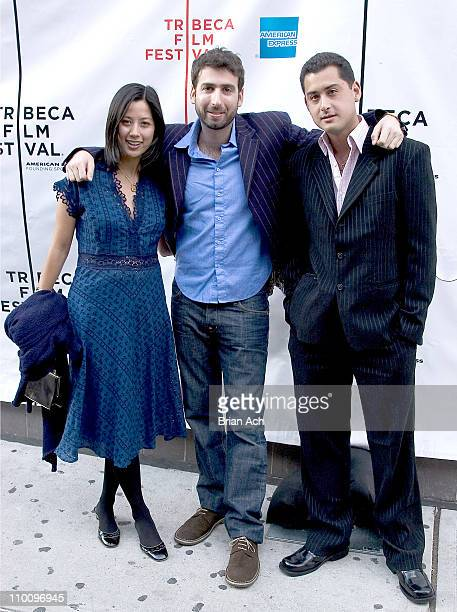 Risha Lee Seth Grossman and Tom Waller Producer during 5th Annual Tribeca Film Festival 'The Elephant King' Premiere at AMC Loews 11th St Cinemas in...