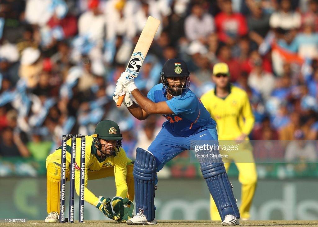 India v Australia - ODI Series: Game 4 : News Photo
