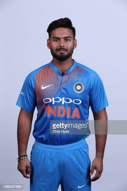 Rishabh Pant poses during the India Twenty20 International headshots session at the Brisbane Sofitel on November 19, 2018 in Brisbane, Australia.