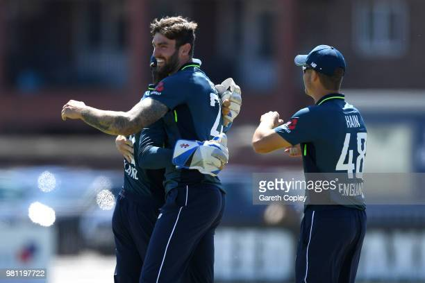 Rishabh PantÊof India A bats during the TriSeries International match between England Lions and India A at The 3aaa County Ground on June 22 2018 in...
