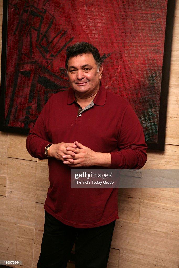 Rishi Kapoor during Asins birthday bash at JW Marriott in Mumbai.