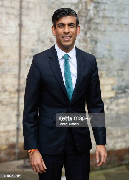 Rishi Sunak attends the Sun's Who Cares Wins Awards 2021 at The Roundhouse on September 14, 2021 in London, England.