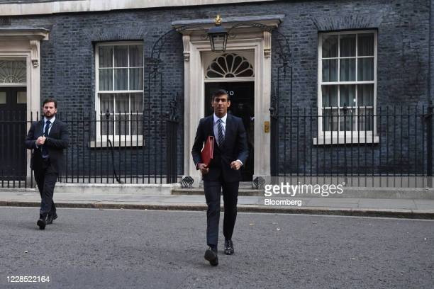 Rishi Sunak UK chancellor of the exchequer arrives for a meeting of cabinet ministers in London UK on Tuesday Sept 15 2020 UK Prime Minister Boris...