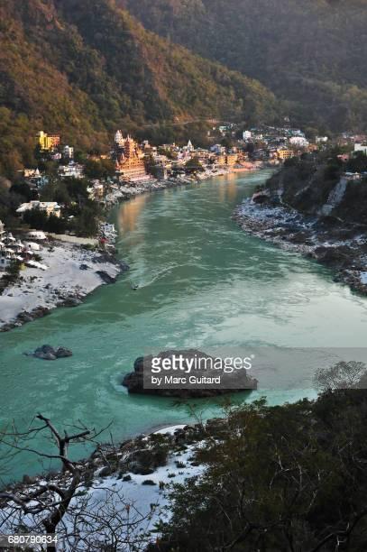 rishikesh, uttarakhand, india - ganges river stock pictures, royalty-free photos & images