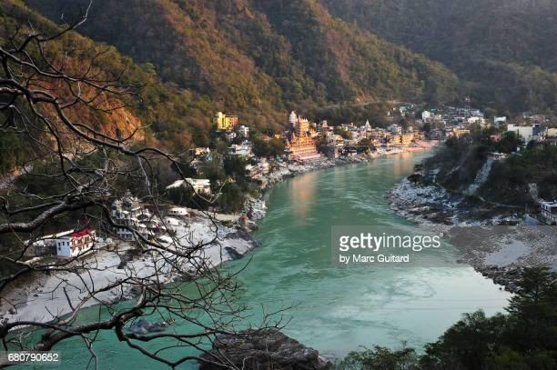 rishikesh, uttarakhand, india - river ganges stock pictures, royalty-free photos & images