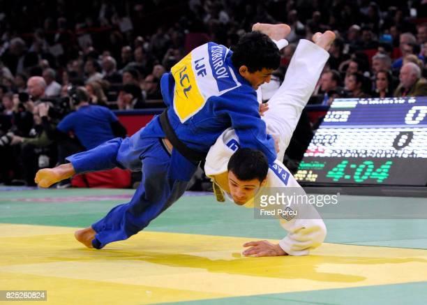 Rishod SOBIROV - 60kg / Amiran PAPINASHVILI - 60kg - - Tournoi de Paris - Judo - Paris,
