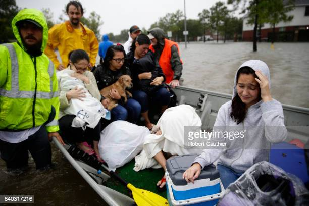Rising flood waters stranded hundreds of residents of Twin Oaks Village in Clodine where an collection of small boat owners coordinated to bring most...