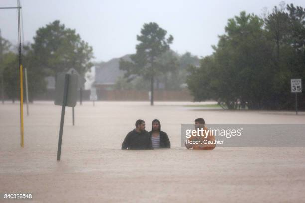 Rising flood waters stranded hundreds of residents of Twin Oaks Village in Clodine where a collection of small boat owners including some with pool...
