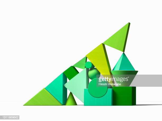 a rising green graph containing various factors - spreading stock pictures, royalty-free photos & images