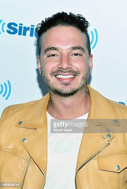 Rising Latin urban star J Balvin visits the SiriusXM Studios on April 13 2015 in New York City