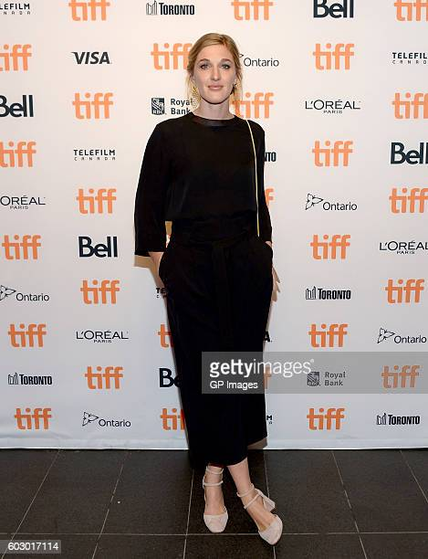 Rising Star 2016 actress Mylene Mackay attends the It's Only The End Of The World premiere during the 2016 Toronto International Film Festival at...