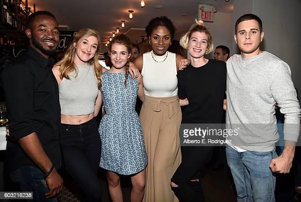 Rising Star actors OC Ukeje Mylene Mackay Sophie Nelisse Somkele IyamahIdhalama Grace Glowicki and Jared Abrahamson attend the TIFF Rising Stars...