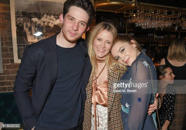EE Rising Star Award nominee Josh O'Connor EE Rising Star Award Jury member Edith Bowman and EE Rising Star Award nominee Florence Pugh attend the...