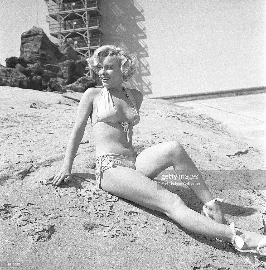 Marilyn Monroe Portrait Session : News Photo