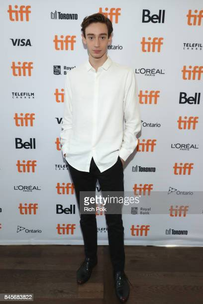 Rising Star Theodore Pellerin attends The 2017 Rising Stars Power Break Lunch At The 2017 Toronto International Film Festival at Ricarda's Restaurant...