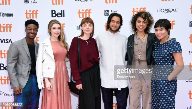 TIFF Rising Stars 2018 Lamar Johnson Eleanor WorthingtonCox Michaela Kurimsky Ahmed Malek Jess Salguerio and Devery Jacobs attend the If Beale Street...