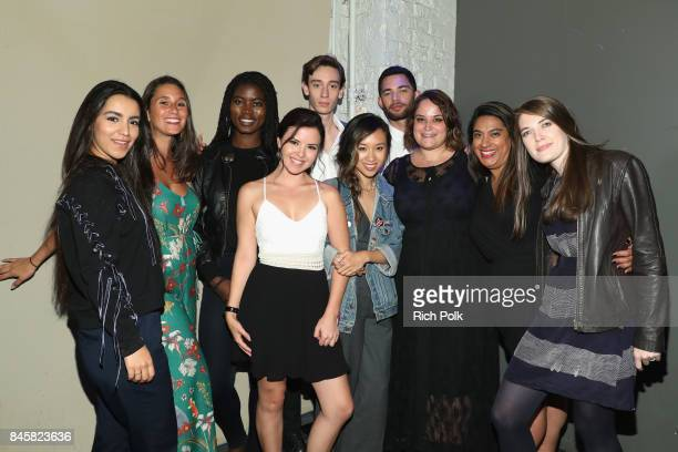 Rising Stars Group Photo at The Annual IMDb Dinner Party At The 2017 Toronto International Film Festival at Brassaii on September 11 2017 in Toronto...
