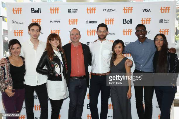 TIFF 17 Rising Stars Mary Galloway Theodore Pellerin Jessie Buckley Founder and CEO of IMDb Col Needham Vinnie Bennett Ellen Wong Mamoudou Athie and...