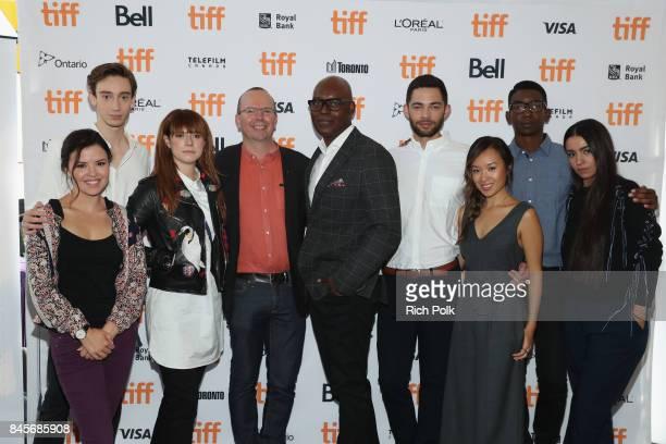 TIFF 17 Rising Stars Mary Galloway Theodore Pellerin Jessie Buckley Founder and CEO of IMDb Col Needham TIFF Artistic Director Cameron Bailey Vinnie...