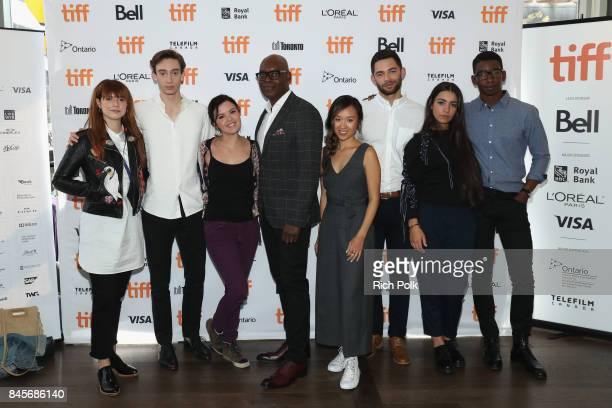TIFF 17 Rising Stars Mary Galloway Theodore Pellerin Jessie Buckley TIFF Artistic Director Cameron Bailey Vinnie Bennett Ellen Wong Mamoudou Athie...
