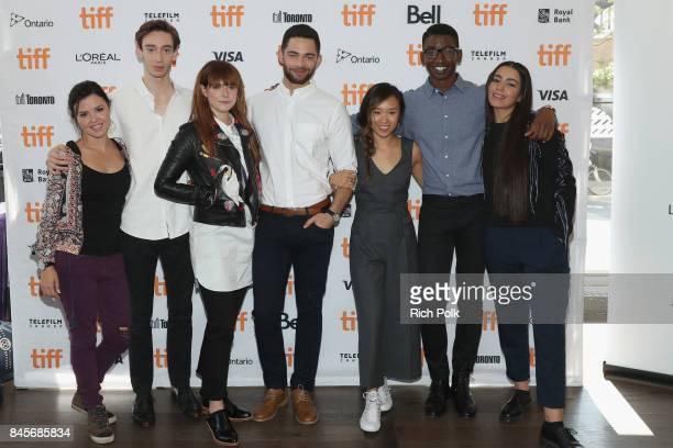 TIFF 17 Rising Stars Mary Galloway Theodore Pellerin Jessie Buckley Vinnie Bennett Ellen Wong Mamoudou Athie and Lina El Arabi attend The 2017 Rising...