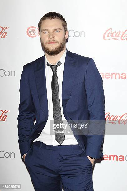 Rising Stars of 2014 award winner Jack Reynor at Cinemacon 2014 Day 4 held at The Colosseum at Caesars Palace on March 27 2014 in Las Vegas Nevada