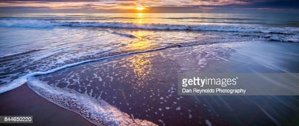 Rising sun at the Beach