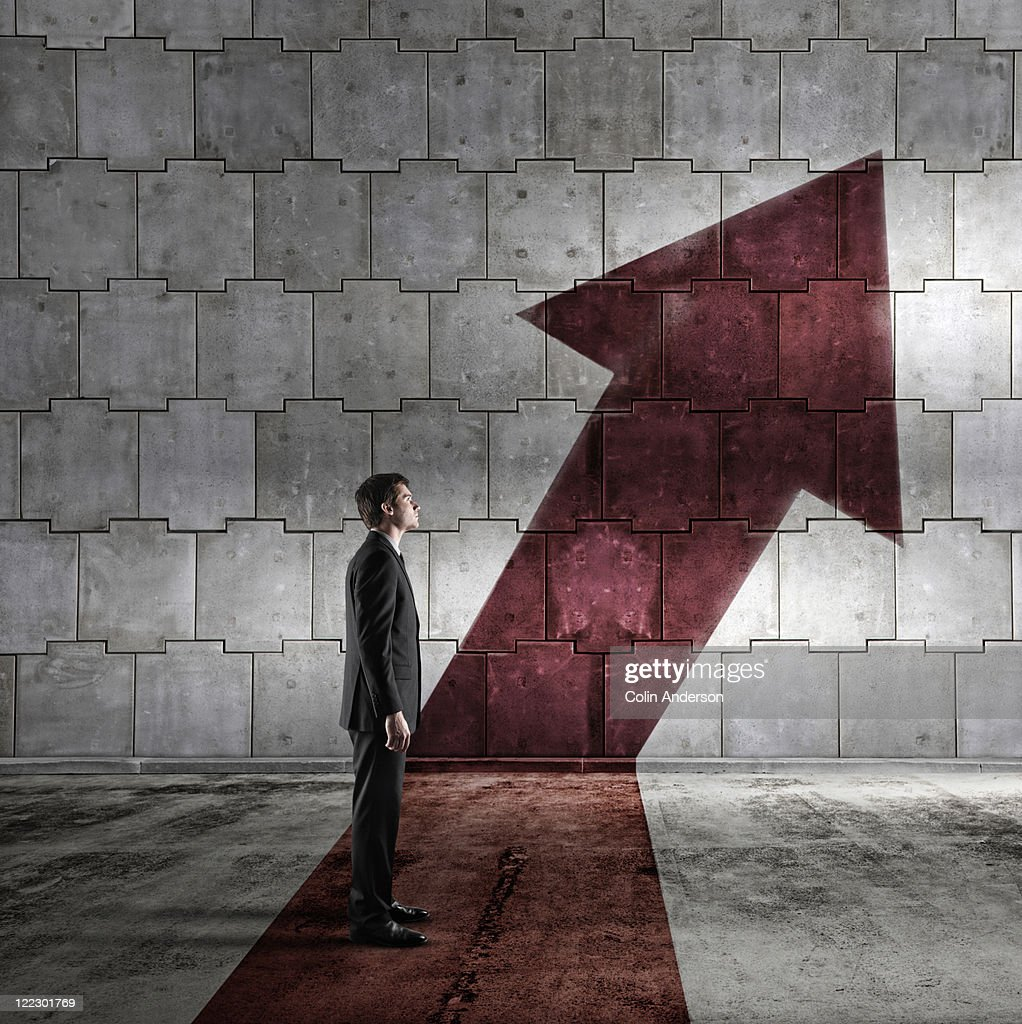 Rising to the top : Stock Photo