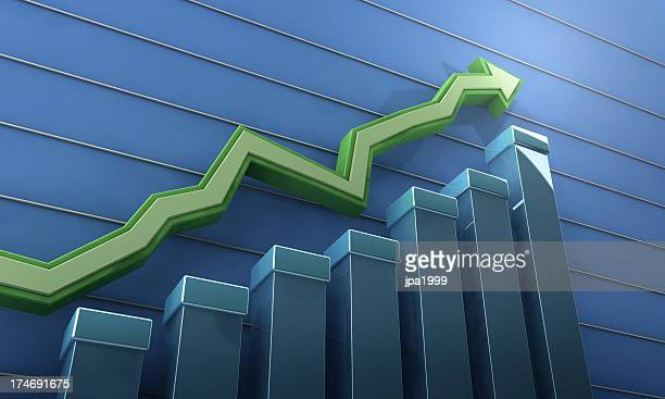 rising trend - great recession stock pictures, royalty-free photos & images