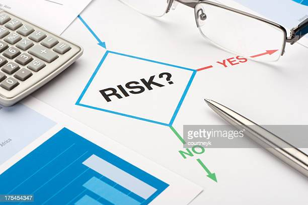 risk chart - risk stock pictures, royalty-free photos & images