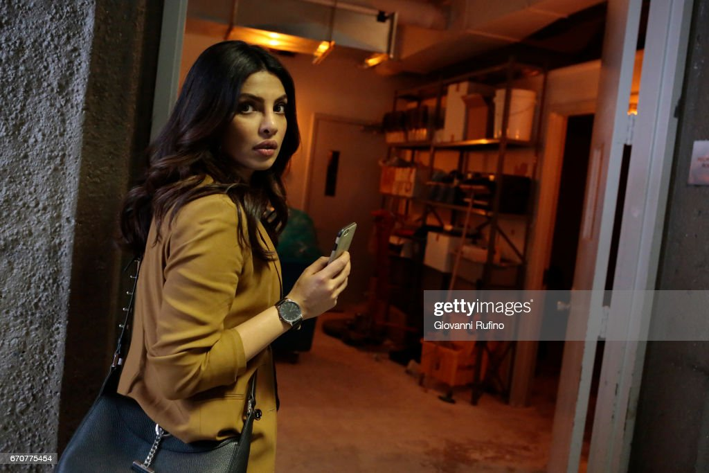 QUANTICO - 'GLOBALREACH' - Risking it all, Alex works with Owen to infiltrate the Collaborators. When they begin to test her loyalty, Alex realizes she's become a pawn in their plan to take down both the President and the task force, on 'Quantico,' MONDAY, MAY 1 (10:01-11:00 p.m. EDT), on The ABC Television Network. CHOPRA