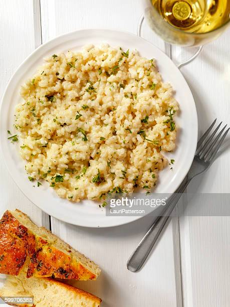 Risotto with Fresh Parsley