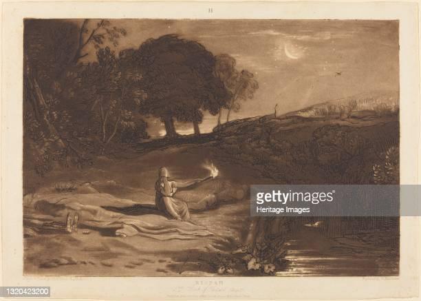 Rispah, published 1812. Artist JMW Turner.
