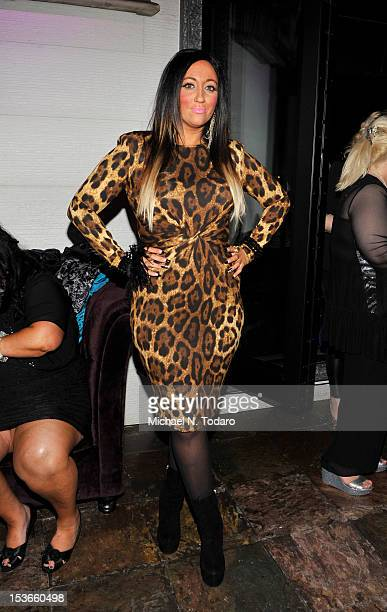 Rissa Jerseybling attends the 'Glam Fairy' season 2 premiere party at Teak on the Hudson on October 7 2012 in Hoboken New Jersey