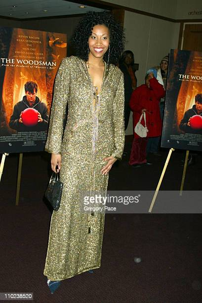 """Rissi Palmer during """"The Woodsman"""" New York Cit y Premiere - Inside Arrivals at The Skirball Center in New York City, New York, United States."""