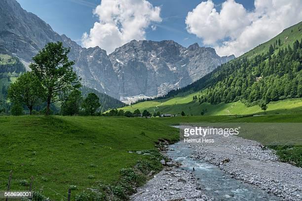Risstal in the Tyrolean Karwendel mountains