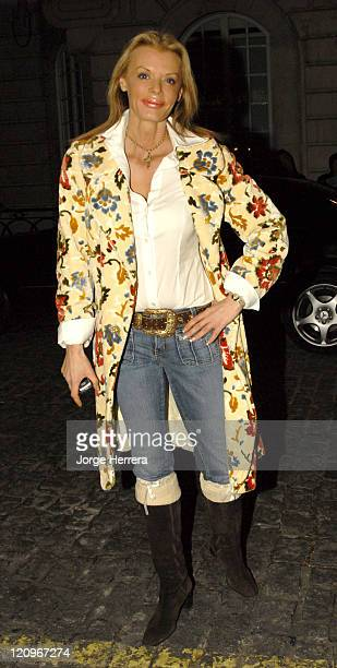 Rissy Mitchell during Terry Pratchett's Hogfather TV Premiere Outside Arrivals at Curzon Mayfair in London Great Britain