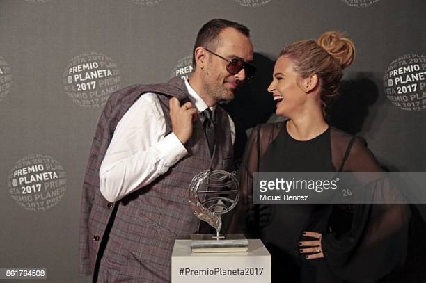 Risto Mejide and Laura Escanes attend the 66th edition of Premio Planeta 2017 on October 15 2017 in Barcelona Spain