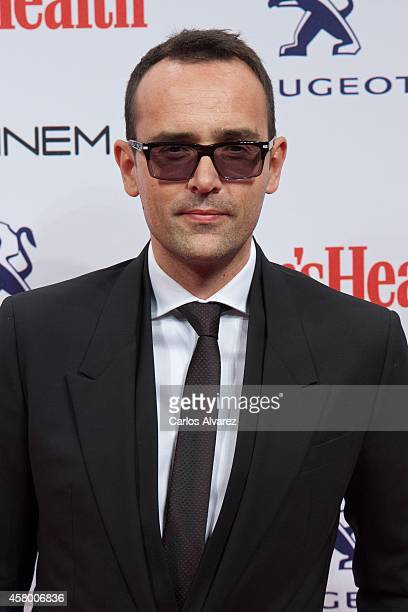 Risto Mejide attends the Men's Health 2014 awards at the Goya Theater on October 28 2014 in Madrid Spain