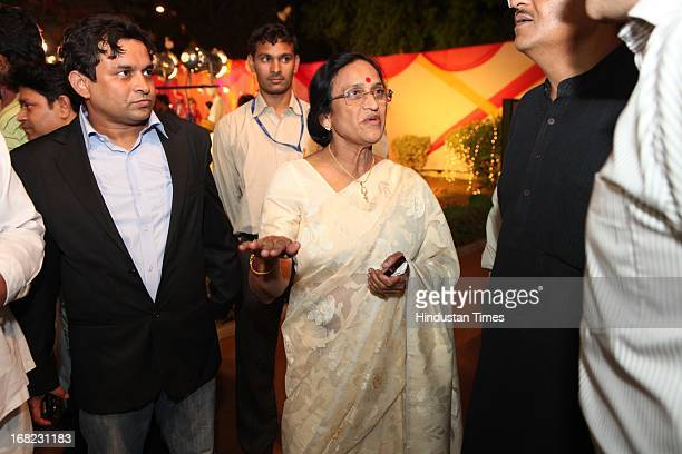 Rita Bahuguna Joshi at the Wedding ceremony of Lawyer Ashok Basoya and ex Delhi University Student Union president Ragini Nayak on May 5 2013 in New...