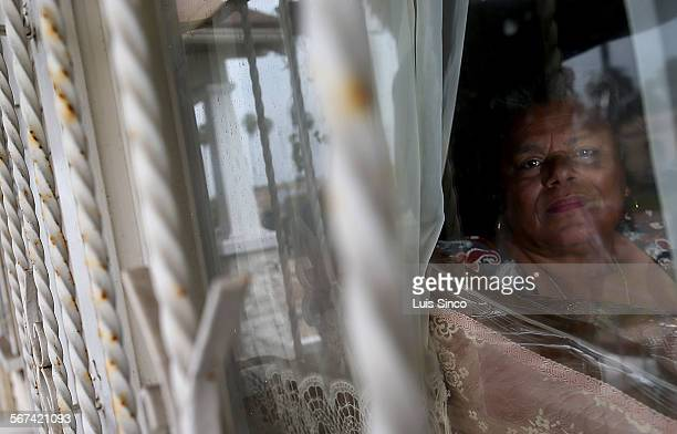 Rita Banks looks out the window of her home in the South Los Angeles neighborhood known as Chesterfield Square. Per capita, Chesterfield Square leads...