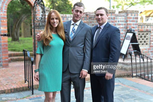Rita Barry Dan Barry and Shane Finocchiano attend the 21st Annual Hamptons Heart Ball at Southampton Arts Center on June 10 2017 in Southampton New...