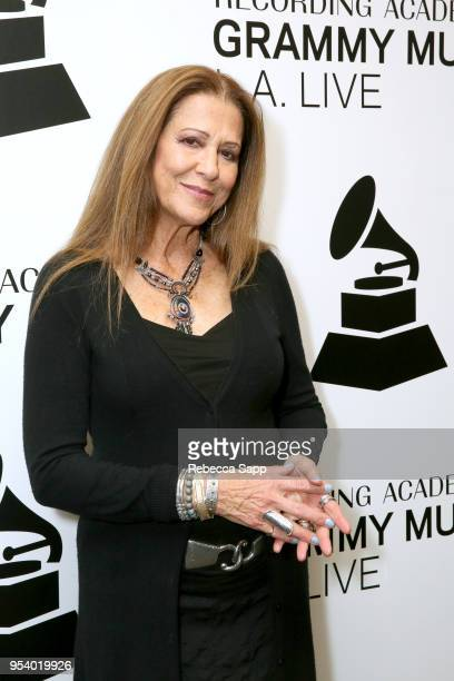 Rita Coolidge attends The Drop Rita Coolidge at The GRAMMY Museum on May 2 2018 in Los Angeles California