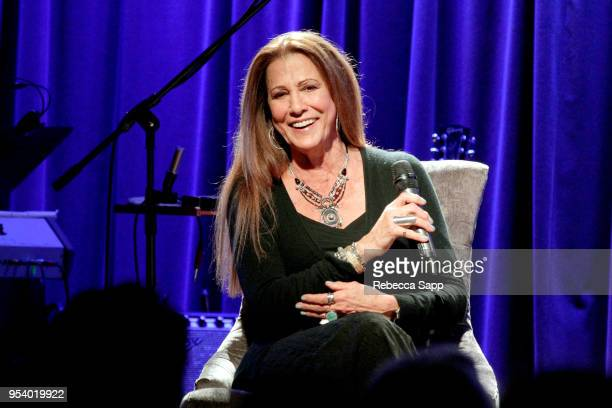 Rita Coolidge speaks onstage at The Drop Rita Coolidge at The GRAMMY Museum on May 2 2018 in Los Angeles California