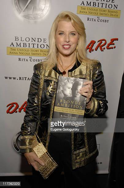 Rita Cosby at The 21 Magazine Celebration of Rita Cosby's New Book Blonde Ambition The Untold Story Behind Anna Nichole Smith's Death on October 3...