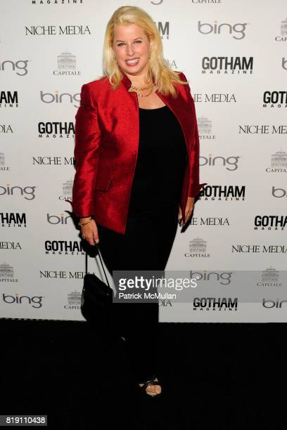 Rita Cosby attends ALICIA KEYS Hosts GOTHAM MAGAZINES Annual Gala Presented by BING at Capitale on March 15, 2010 in New York City.