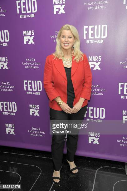 Rita Cosby attends 'Feud' Tastemaker lunch at The Rainbow Room on February 14 2017 in New York City