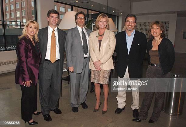 Rita Cosby John Fortier Danny Goldberg Catherine Crier Eric Alterman and Robin Bronk