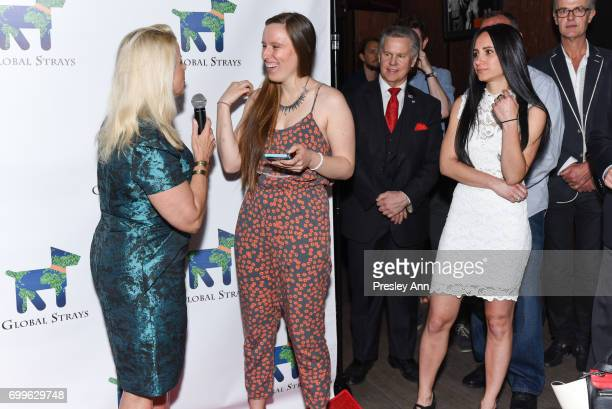 Rita Cosby Julie Ainsbury and Elizabeth Shafiroff attend Elizabeth Shafiroff and Lindsey Spielfogal Host the First Annual Global Strays Fund Raising...